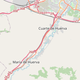 Línea de Autobús 410 - Bus 410: Zaragoza - Cuarte de Huerva - CTAZ