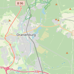 Bus Route 809 - Bus 809: S Hermsdorf => Hennigsdorf, Friedrich-Wolf