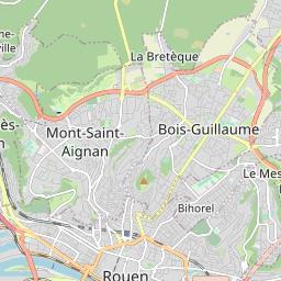 Ligne de Bus T1 - TEOR 1 : Mont aux Malades, Mont-Saint-Aignan ...