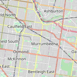 Bus Route 701 - Oakleigh - Bentleigh via Mackie Road - PTV